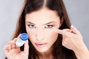 Eye Care, Gas Permeable Contact Lenses for woman in Garden Grove, CA