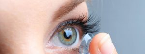 Woman Wearing Scleral Lenses, Eye Doctor in Garden Grove, CA